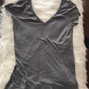 Charlotte Russe grey t shirt